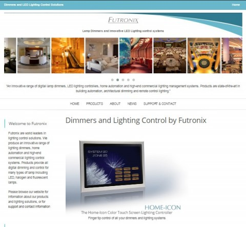 Lamp Dimmers and LED lighting Control Website